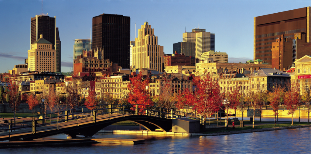 Montreal Canada Fall City Photo
