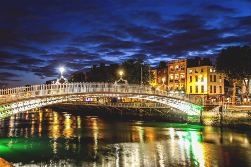 Ha Penny Bridge Dublin